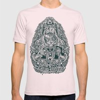 kill the tiger Mens Fitted Tee Light Pink SMALL