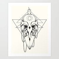 Art Print featuring The Mystic #2 by Eric Weiand