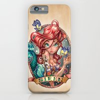 girls iPhone & iPod Cases featuring SIREN by Tim Shumate