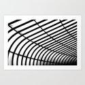 Lines & Grids Art Print