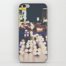 Las Vegas ... the neon town!  iPhone & iPod Skin