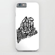 Typographic Maine Slim Case iPhone 6s