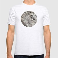 Planetary Bodies - Tree Mens Fitted Tee Ash Grey SMALL