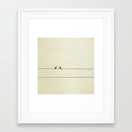 Good Company Framed Art Print