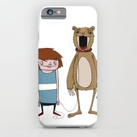 iPhone & iPod Case featuring Pet Bear by Bare Wolfe