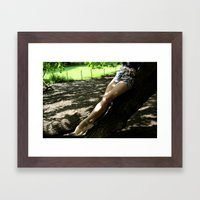 Grounded Framed Art Print