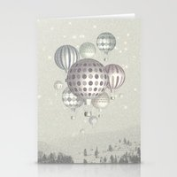Winter Dreamflight Stationery Cards