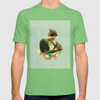 nesting Mens Fitted Tee Grass SMALL