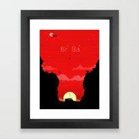 Break Bad - The Desert Framed Art Print