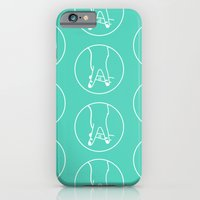 "iPhone & iPod Case featuring ""A"" Hand by gabsnisen"