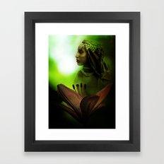 In the Secret of Your Glance Framed Art Print
