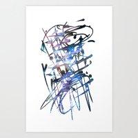 Acuatik Art Print