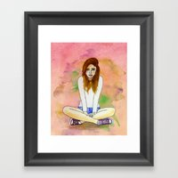 Mood Today Framed Art Print