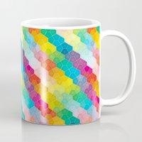Jewel Polygon Pattern Mug