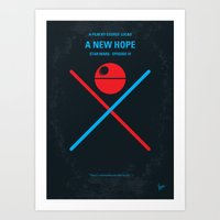 No154 My SW Episode IV M… Art Print