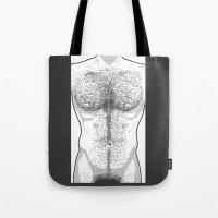 Hairy Torso - White Tote Bag