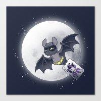 Bat Bat Canvas Print