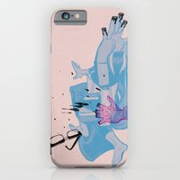 iPhone & iPod Case featuring Nerd /// Fight by Christopher Berry