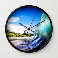 Wave Wall Wall Clock