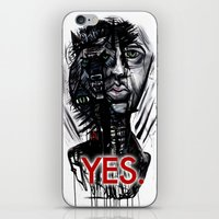 YES Wolf iPhone & iPod Skin