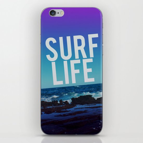 Surf Life iPhone & iPod Skin