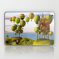 City in the Sky_Lanscape Format Laptop & iPad Skin