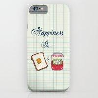 Happiness Is Toast & Jam iPhone 6 Slim Case