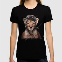 Tiger Womens Fitted Tee Black SMALL