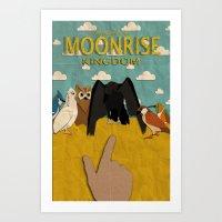 Moonrise Kingdom Minimal… Art Print