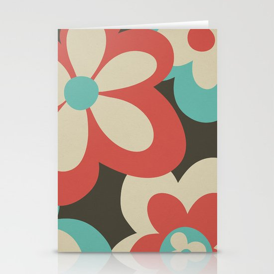 Flower Power Stationery Card