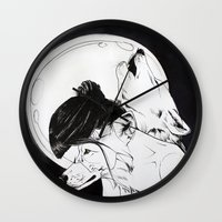 Wolf Familiar (werewolf) Wall Clock