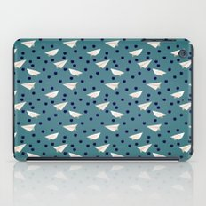 Blueberries & Paper Airplanes iPad Case