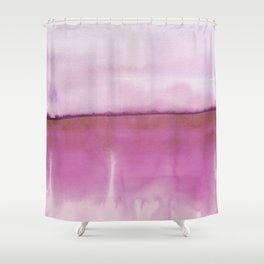 Shower Curtain - Abstract Landscape 88 - Georgiana Paraschiv