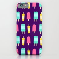 iPhone & iPod Case featuring Summertime Snacks by Zoe Zoe Sheen