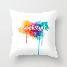 S6 Tee - 2nd Version Throw Pillow