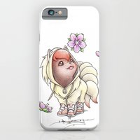 iPhone Cases featuring I too will Blossom by Randy C