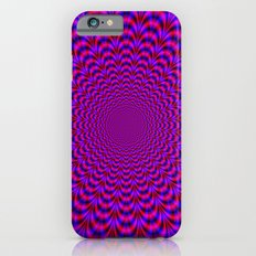 Pulse in Red and Blue iPhone 6 Slim Case