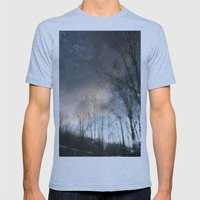Underworld Wave Mens Fitted Tee Athletic Blue SMALL