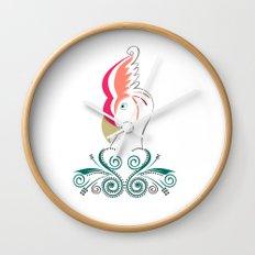 Psycho Parrot Wall Clock