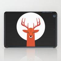 Deer and Moon iPad Case