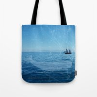 Old Man and the Sea Tote Bag