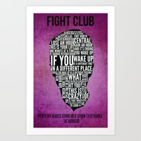 Typography Narrator Art Print