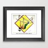 Scouting Adventures Framed Art Print