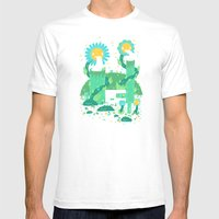 Flower power plant Mens Fitted Tee White SMALL