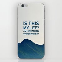 Is this my life? iPhone & iPod Skin