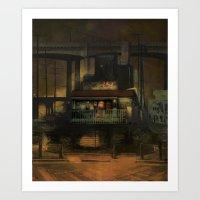 The Hideaway Art Print