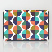 mod circles pattern iPad Case