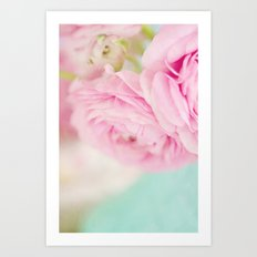 Happiness held is the seed; Happiness shared is the flower.  Art Print