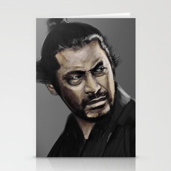 Yojimbo Stationery Card