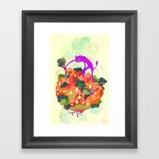 CIVICS 2 Framed Art Print